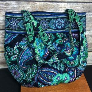 Vera bradley Morgan purse blue rhapsody bag